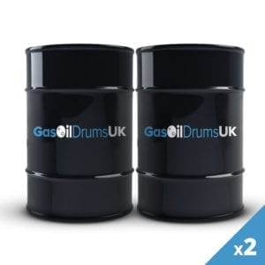 2 Gas Oil Drums