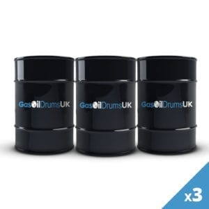 3 Gas Oil Drums